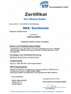 STF - NRA Sachkunde bei Elektro Meyer GmbH in Dipperz